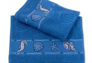 Maritime Gästetucher Blue Summer in blau oder weiß