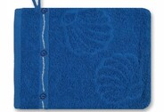 Maritime Waschhandschuhe                        Blue Summer in blau oder weiß