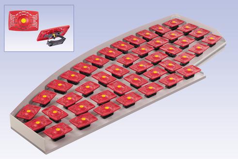Schwingfeder-System DE LUXE (mit Härtegradverstellung)